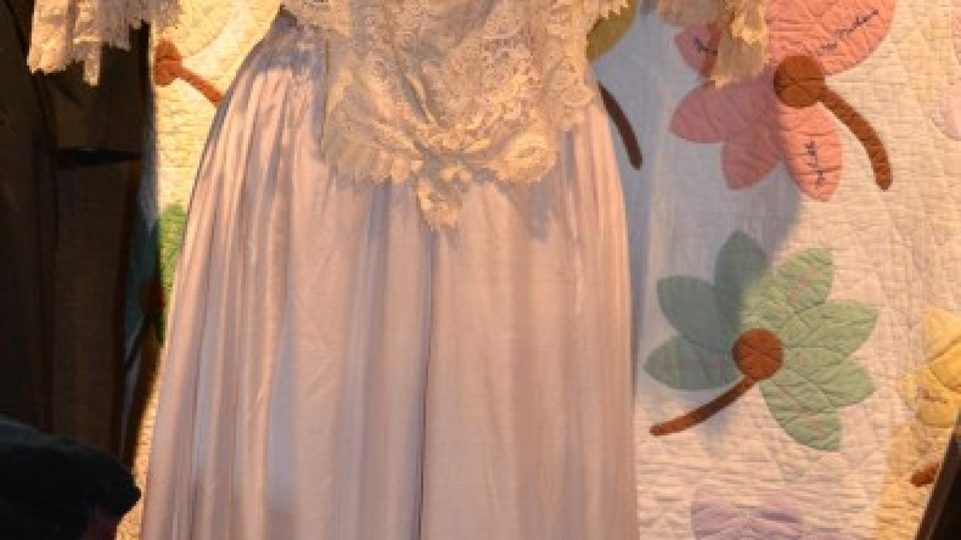 Tea Gown located in Pioneer Exhibit – Jillian Berry