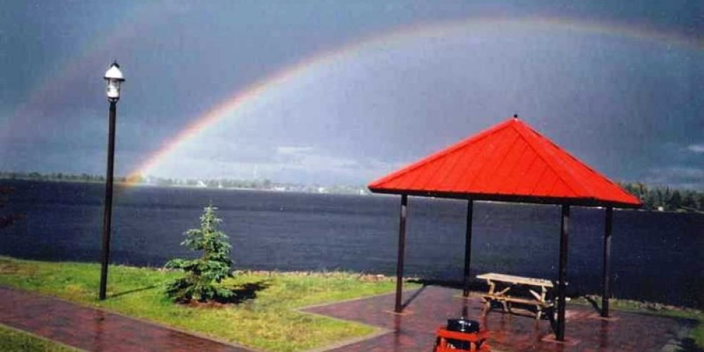 Rainbow over Parkway – Fort Frances Chamber of Commerce