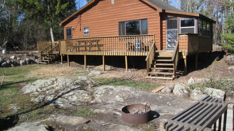Cabin #1 outside