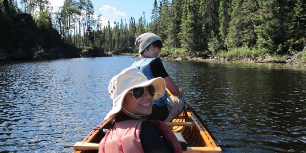 A fine day paddling the BWCA – Sovatha Oum