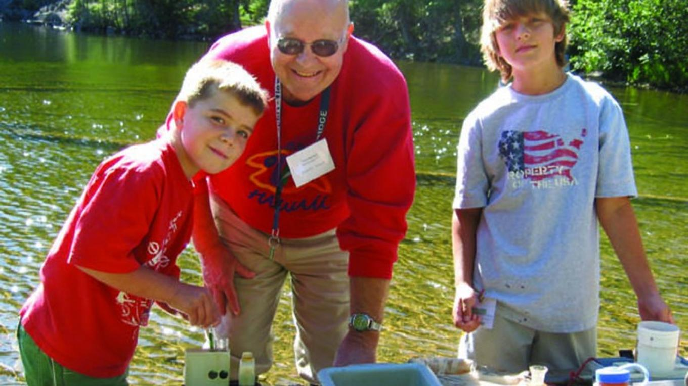 Share your love of learning outdoors. – Wolf Ridge Environmental Learning Center