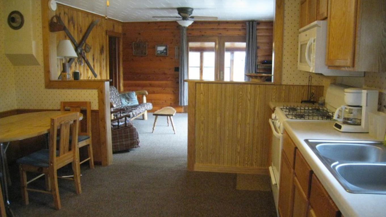 Cabin #1 kitchen