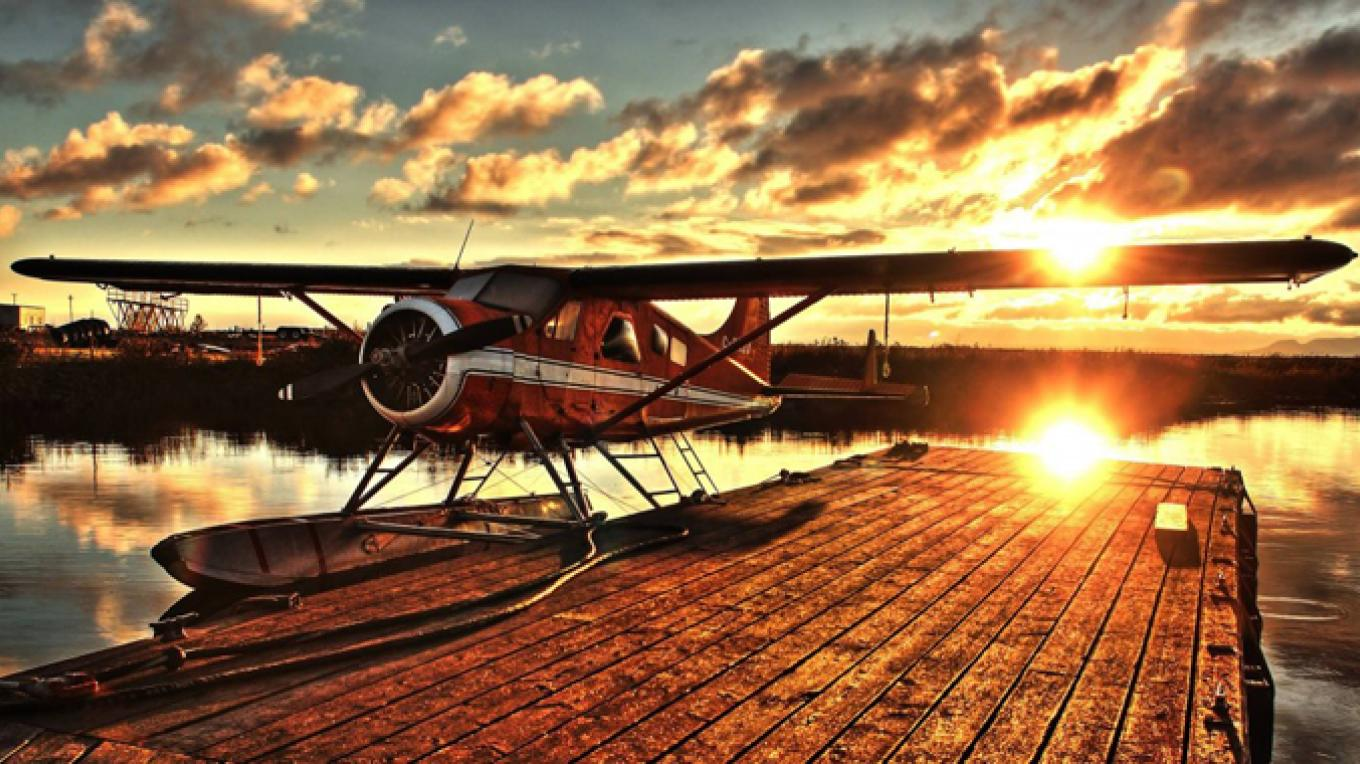 The rugged and dependable deHavilland Beaver is the plane used for our aerial tours. It is one of Canada's top ten engineering achievements and is known as the Harley Davidson of the air. – Clarence Fisher