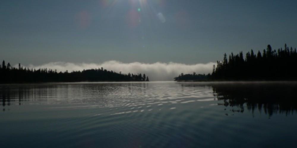 Morning on Cache Lake