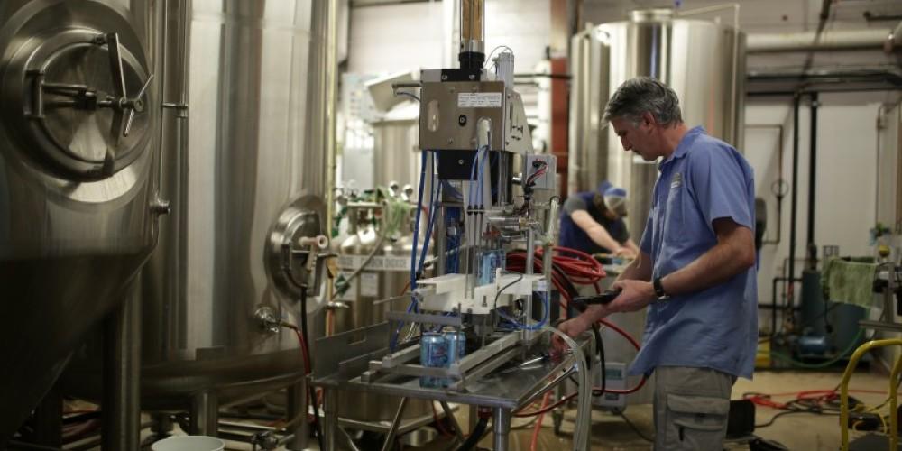 Beer vats behind the scenes – Damian Gilbert