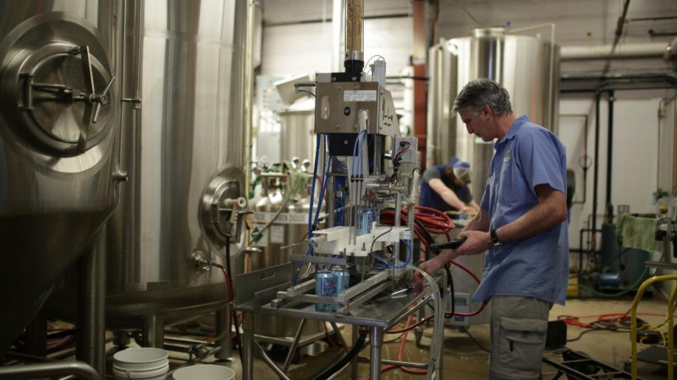 Beer vats behind the scenes – Damian Gilbert