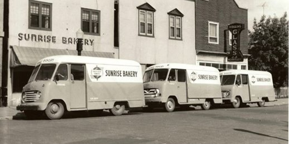 The Old Sunrise Bakery in Park Edition, Hibbing, MN. – Paul Aubin.