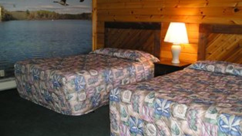 Cozy comfortable rooms.