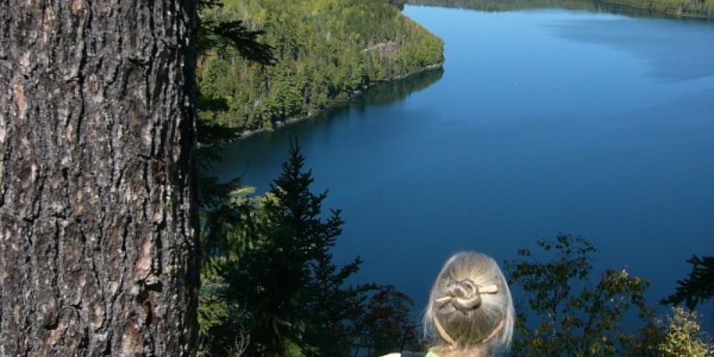 Rose Lake overlook near Stairway Portage – Seaton