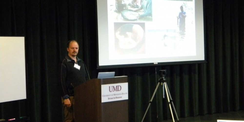 Kristofer Rolfhaus, UW-LaCrosse, Evidence for Mercury Contamination at the Grand Portage National Monument, MN due to Legacy Fur Trade Activity
