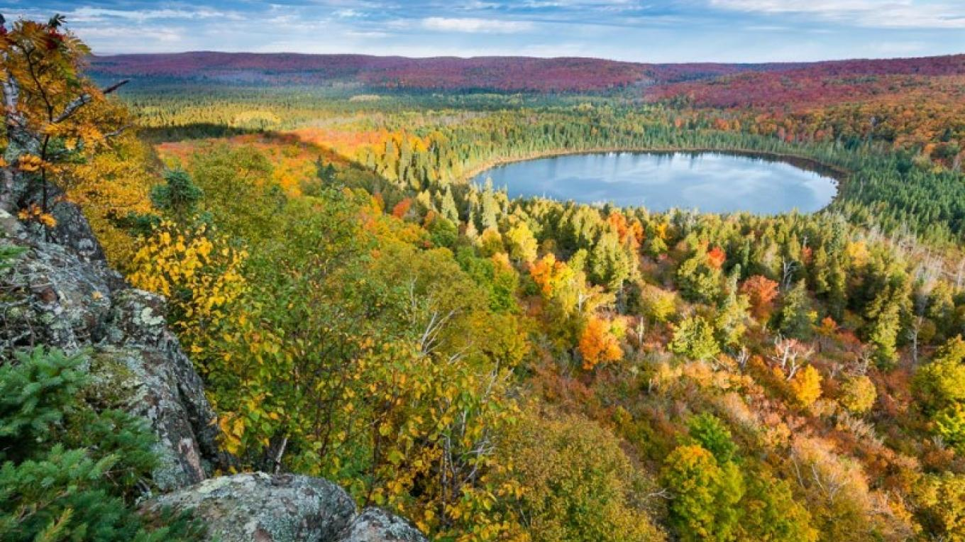 Fall color near Lutsen. – Bryan Hansel