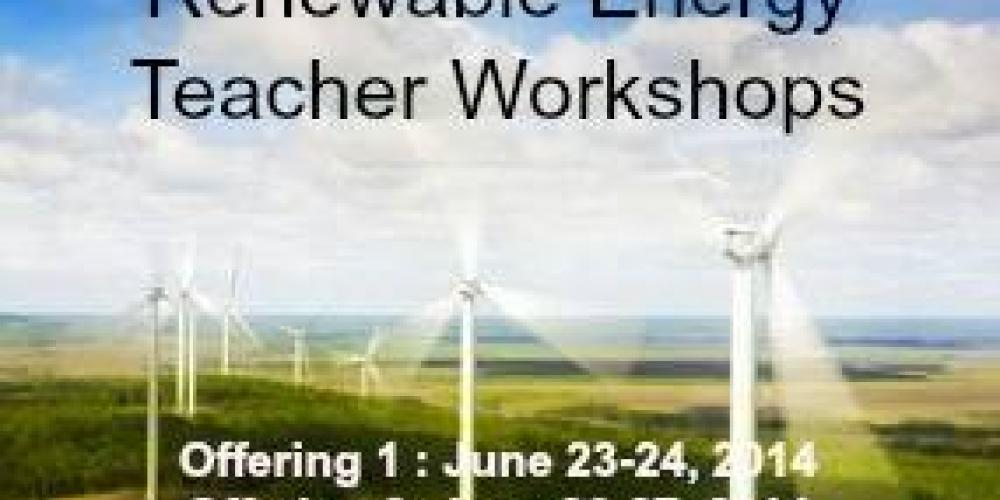 Renewable Energy Teacher Workshops – John Geissler