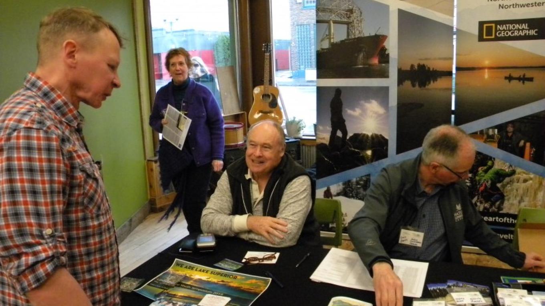 Keith Hautula - Confederation College Keith presented on wetland inventory in Quetico Provincial Park