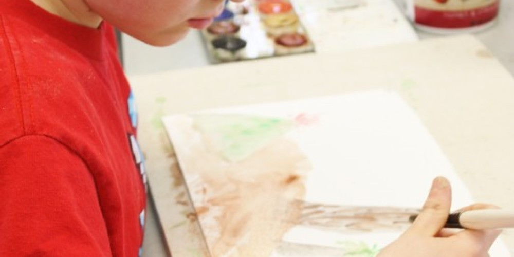 Year-round youth classes in a variety of mediums are offered at the Grand Marais Art Colony – Carolyn Fritz