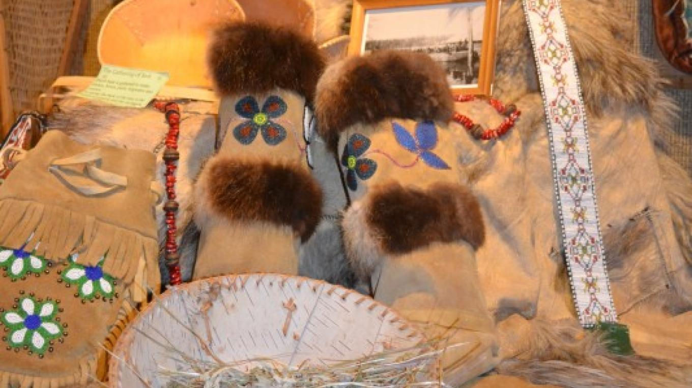 First Nations display – Jillian Berry