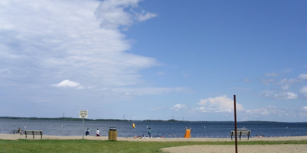 City Beach, just off the Rainy Lake Trail – Andy Hubley