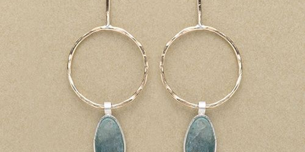Kyanite Earrings – Monica Hansmeyer