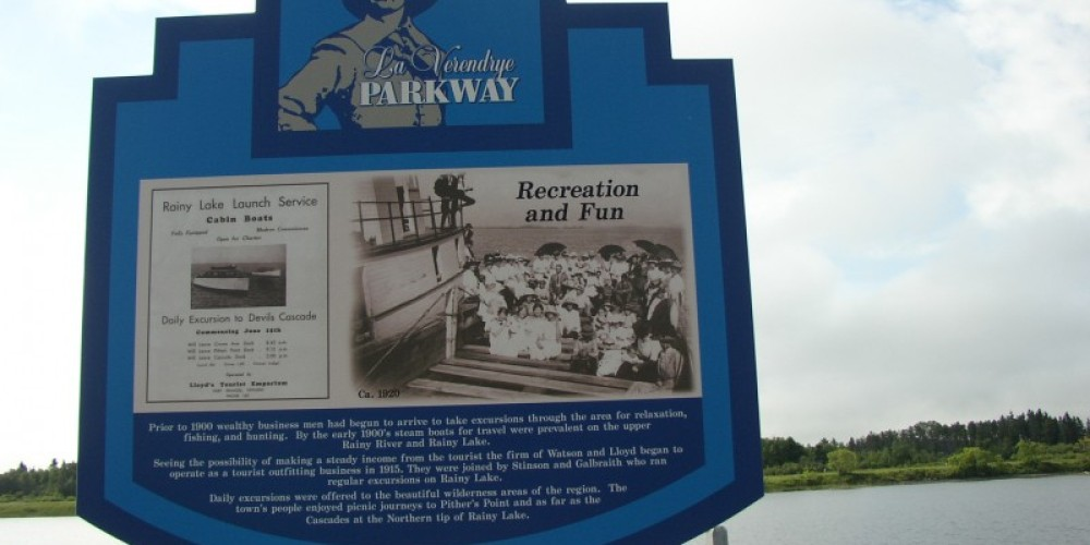 La Verendrye Parkway Sign – Fort Frances Chamber of Commerce