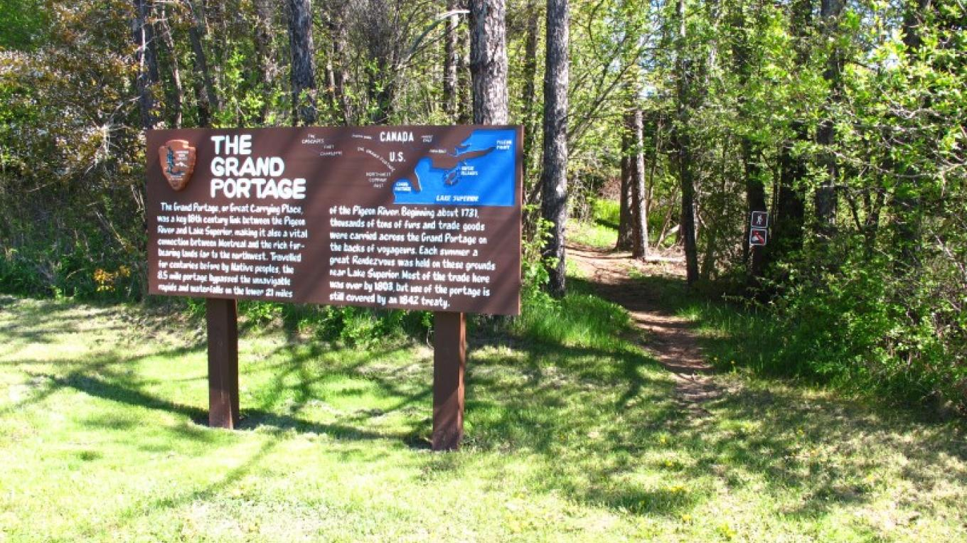 The Grand Portage is an 8.5 mile historic route that has been traveled for thousands of years. – Beth Drost, NPS