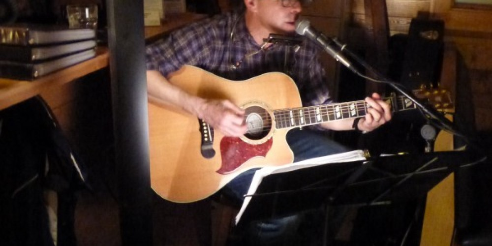 More live music – Andy Fisher