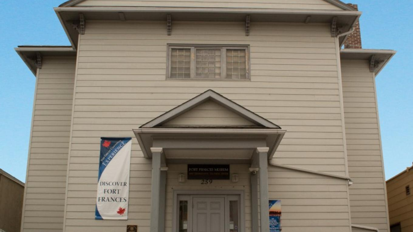 Fort Frances Museum & Cultural Centre, Downtown Fort Frances – Jeremy Hughes