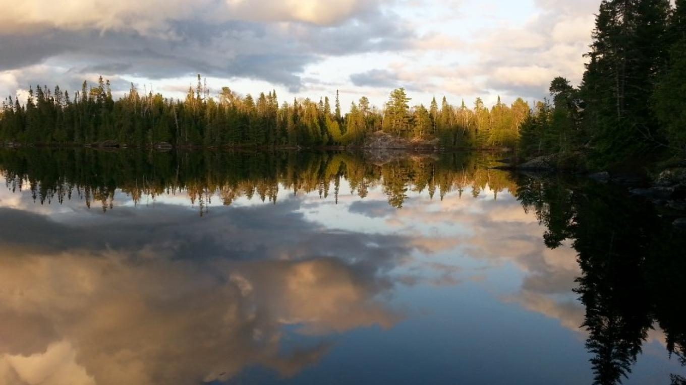 Lonely Lake - QUETICO – C.Stromberg