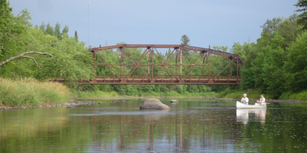 The Cloquet River at County Highway 7 – Andy Hubley