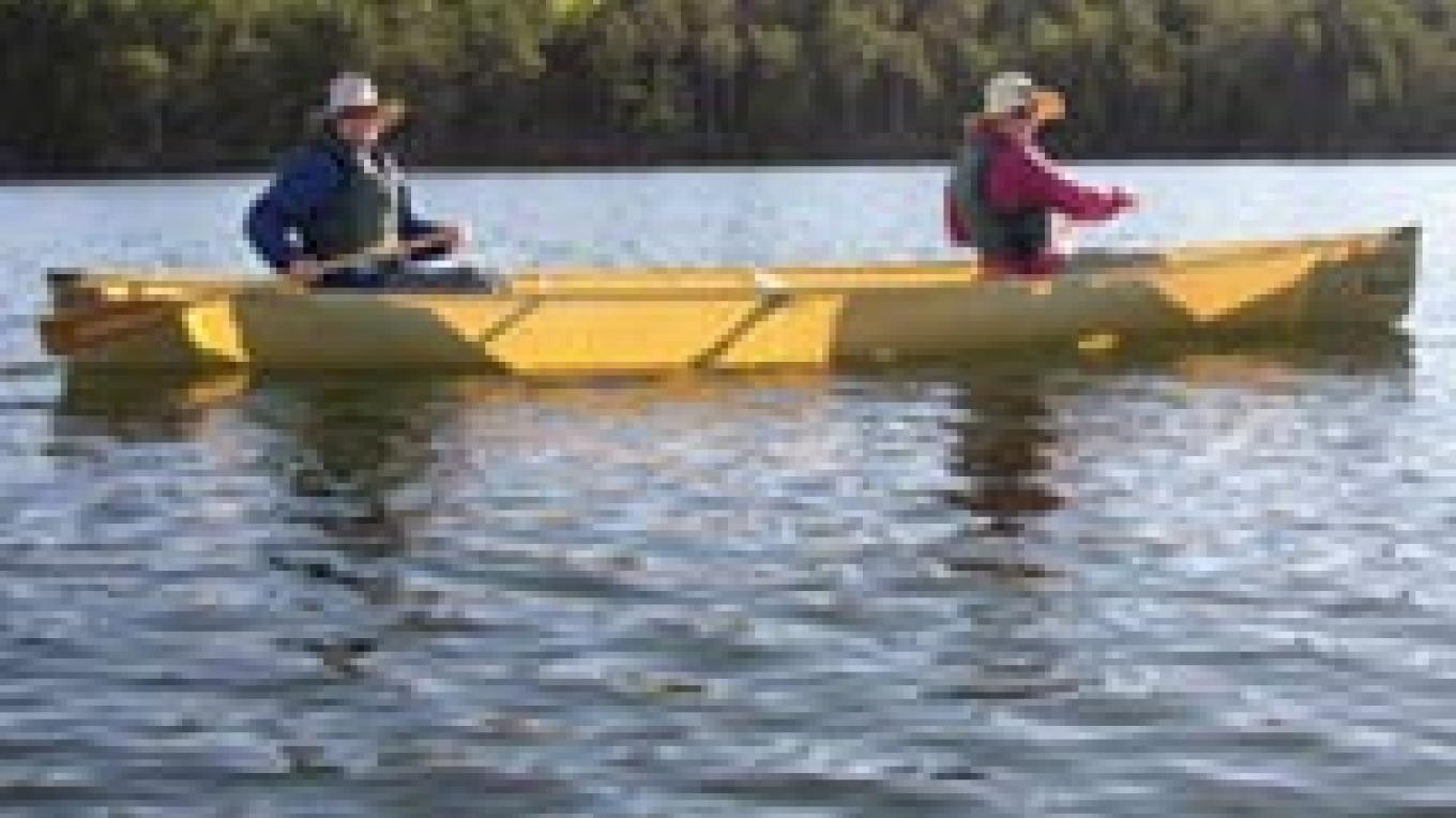 Paddling the Boundary Waters near Northwind Lodge – Larry