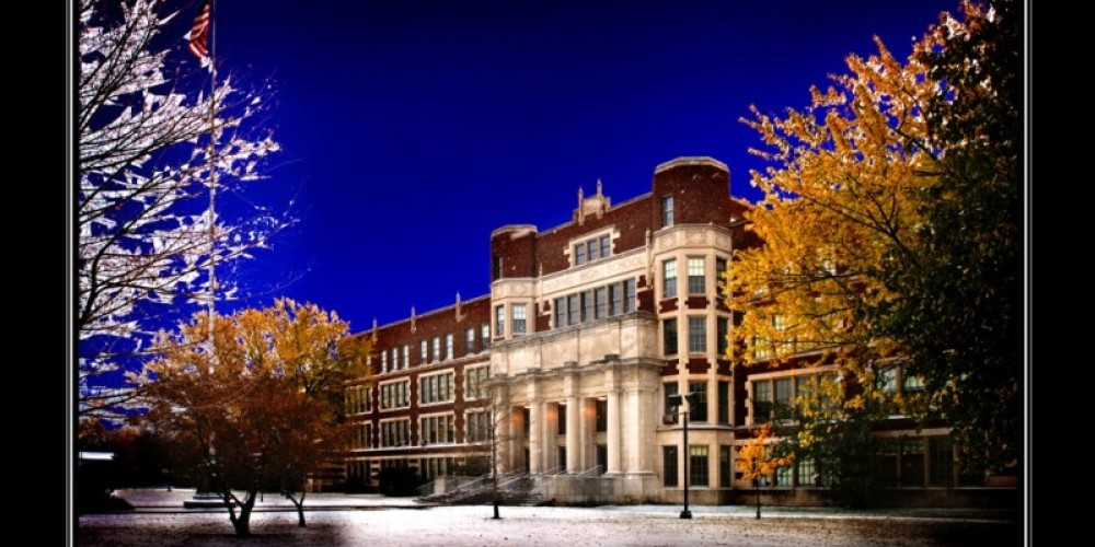 HIstoric Hibbing High School, Hibbing, Minnesota – Thomas Lindstrom Photography