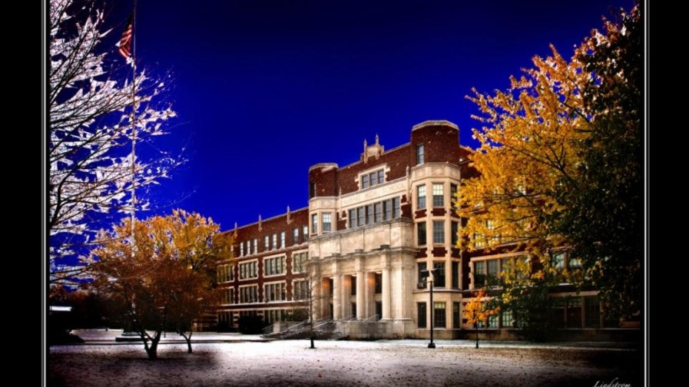 HIstoric Hibbing High School, Hibbing, Minnesota – Thomas Lindstrom Photography