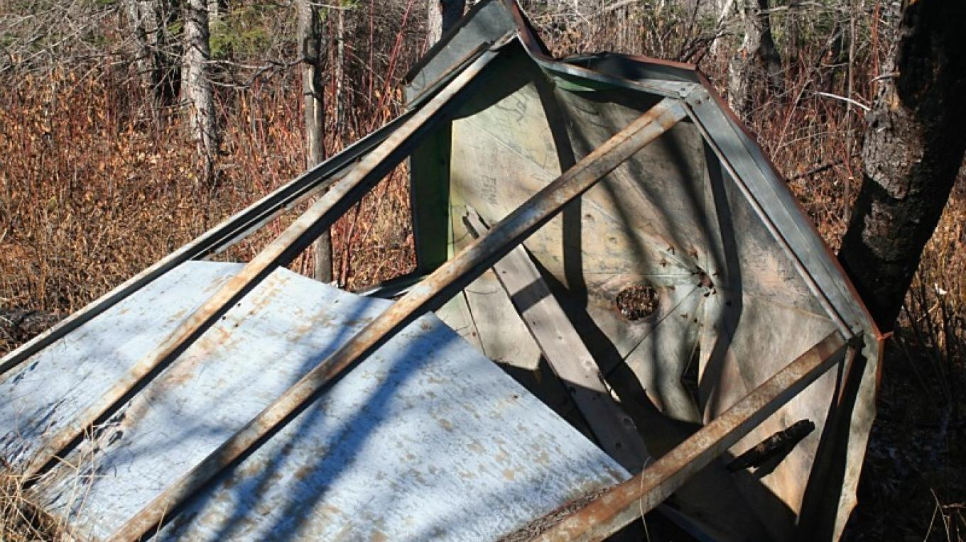 Fire tower on the Centennial Trail – susan prom