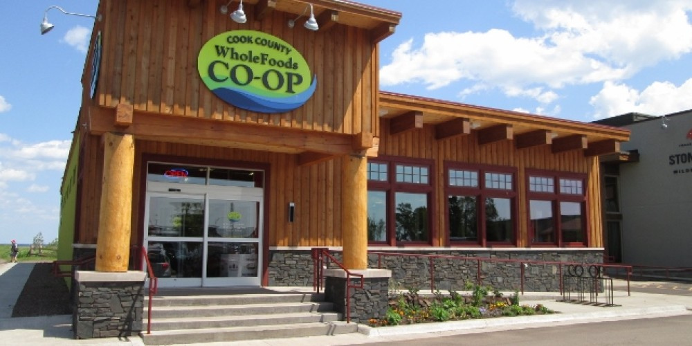 Cook County Whole Foods Co-op new store opened 26 June, 2013. – J. Levene