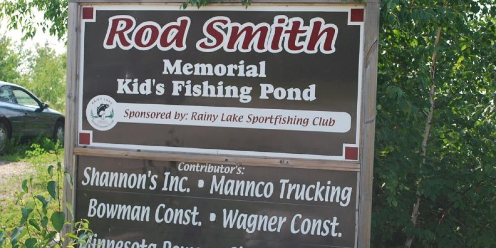 Rod Smioth Memorial Fishing Pond. – International Falls, Rainy Lake and Ranier CVB
