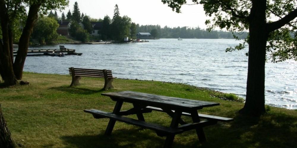 Quiet parks in Ranier offer nice views of Rainy Lake and Rainy River – international falls, rainy lake and ranier CVB