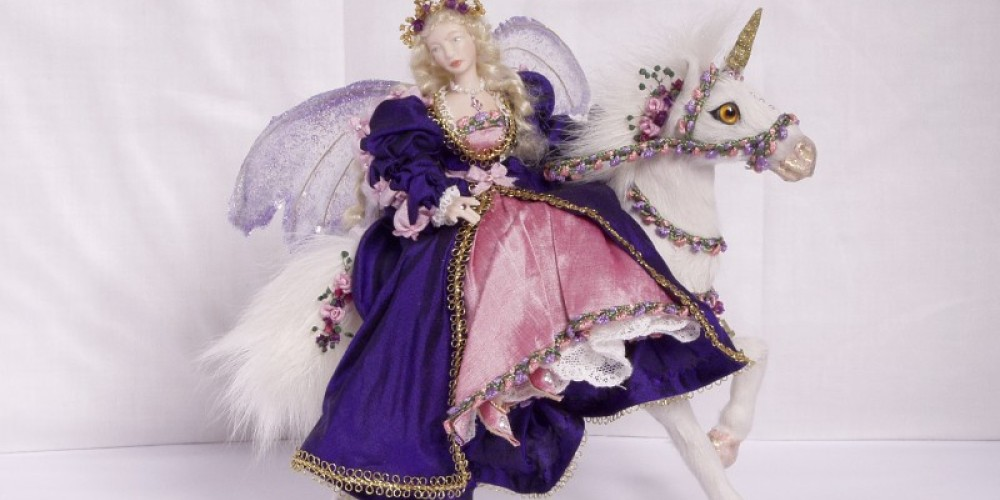THE FAIRY AND UNICORN ARE WONDERFUL TOGETHER IN THIS CREATION BY LOUISE! – Louise