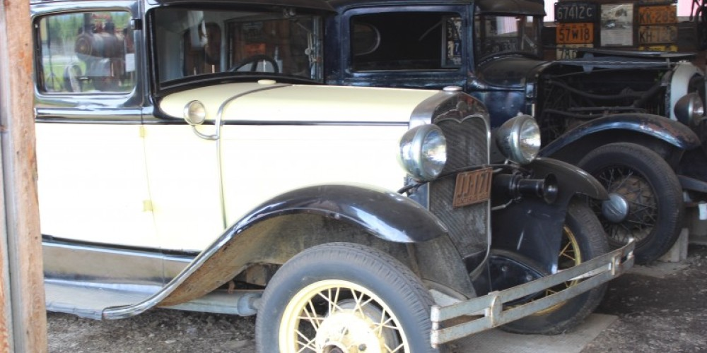 Come and Check out the collection of vintage cars and motorized equipment!