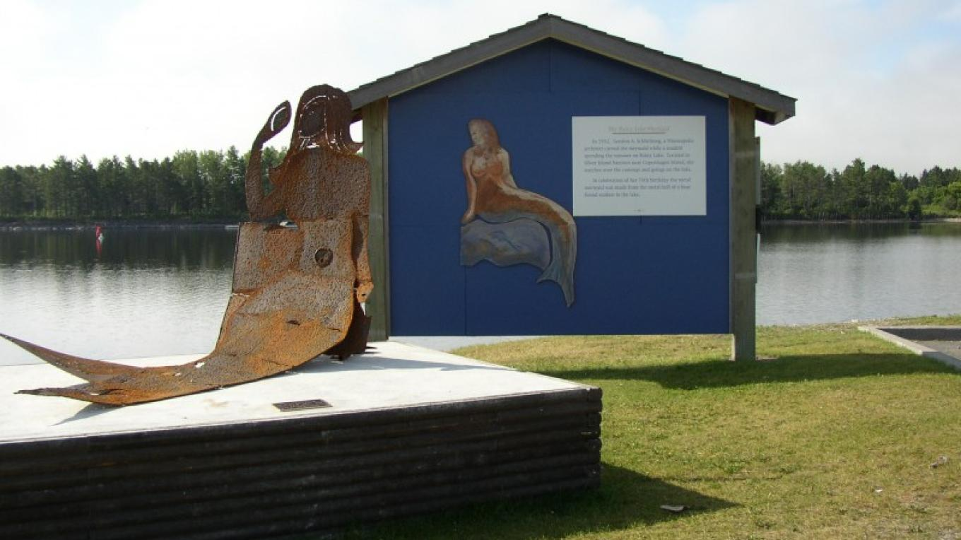 Mermaid Sculpture – Fort Frances Chamber of Commerce