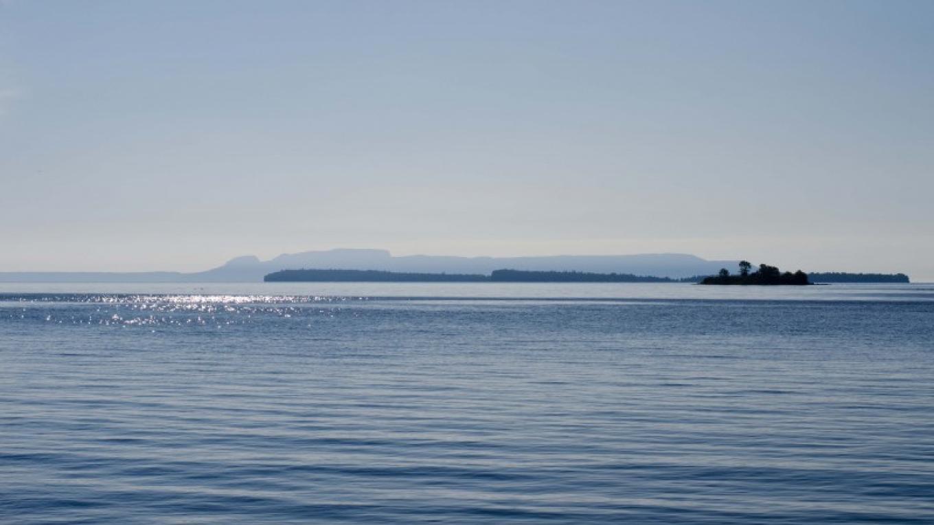 One of the best unobstructed views of the Sleeping Giant can be found at Mission Island Marsh Conservation Area – LRCA Staff