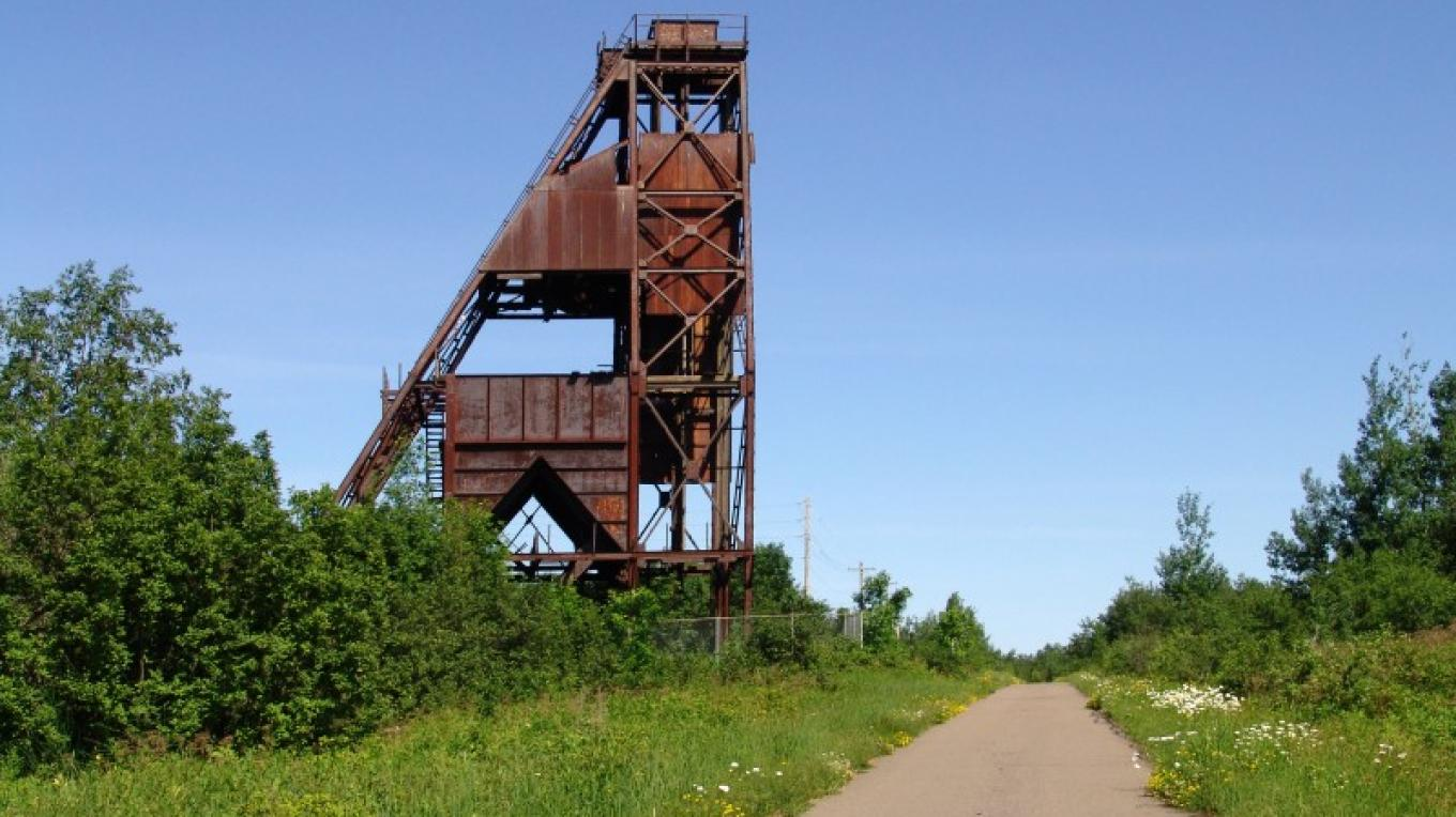 Bruce Mine Headframe Chisholm, MN