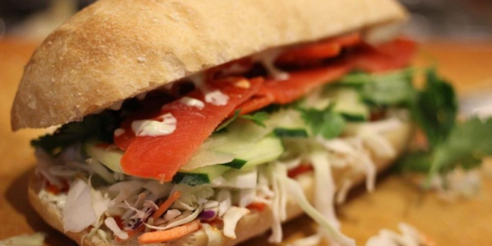 A Sitka Sushi sandwich. – Mary K Tennis