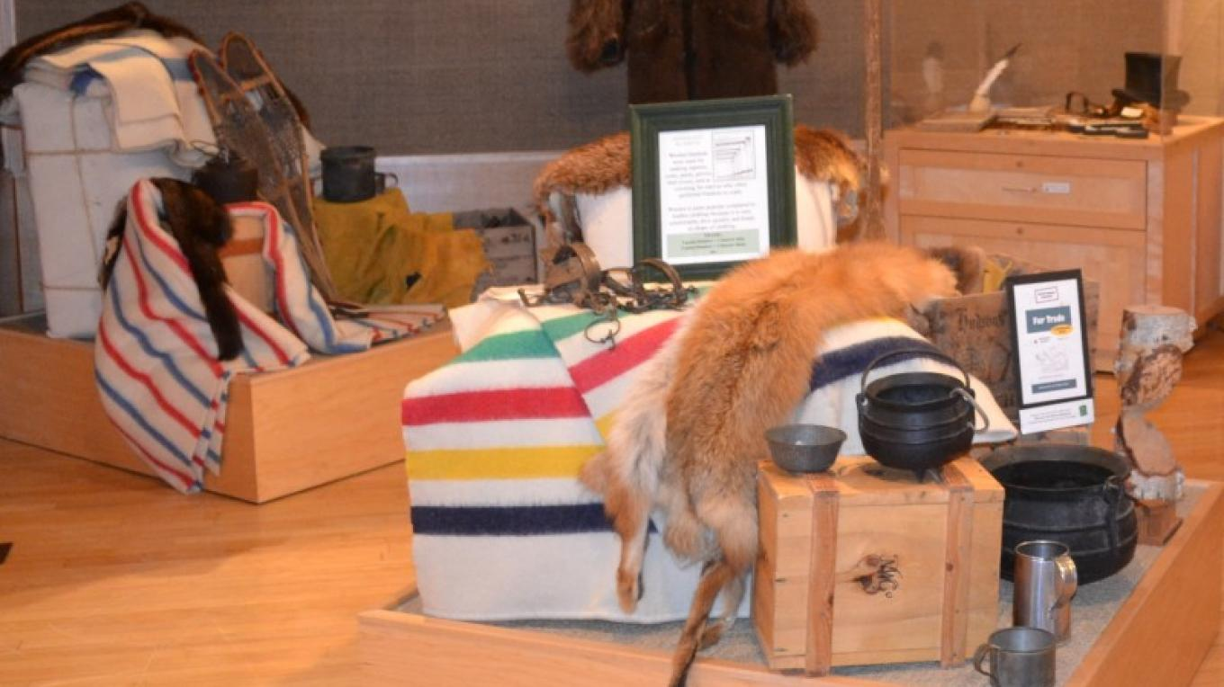 Fur Trade Exhibit – Jillian Berry