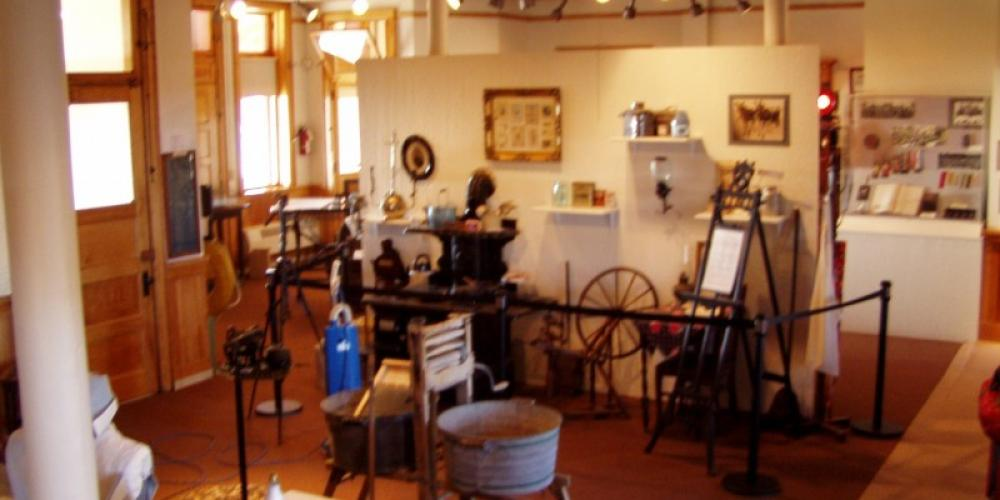 The Depot Museum features 4000 square feet of display area focusing on the History of Lake County – Mel Sando