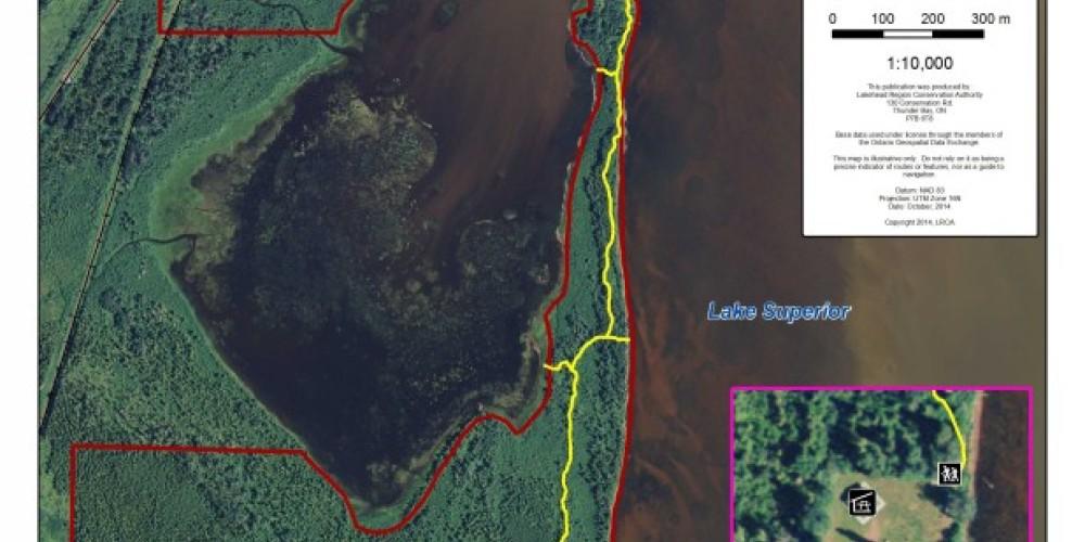 Hurkett Cove Conservation Area Trail Map – LRCA Staff