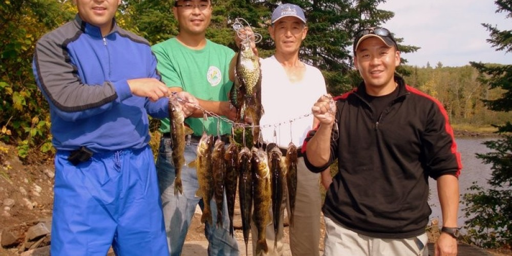 A successful catch on the Kawishiwi River in the BWCA. – Ely Outfitting Company