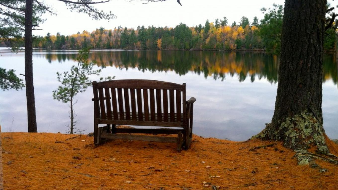 Fall view from Cabin 17 – Northernair Lodge