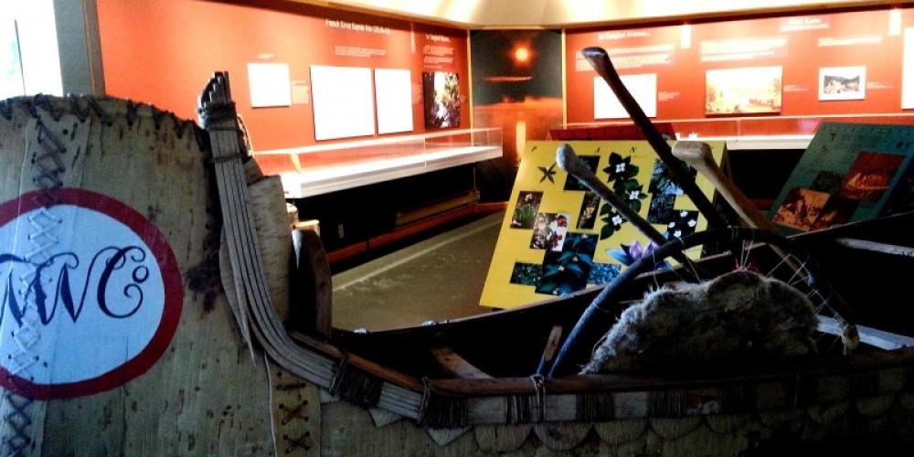 Inside the Heritage Pavilion - Paul Kane Exhibit