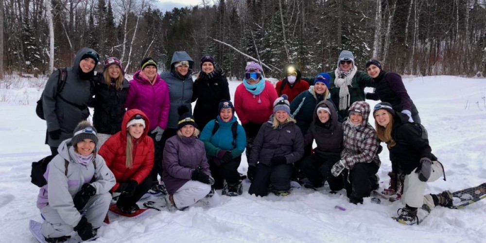 The Northwoods Snowshoe Adventure... it's winter, let's play! – The Duluth Experience