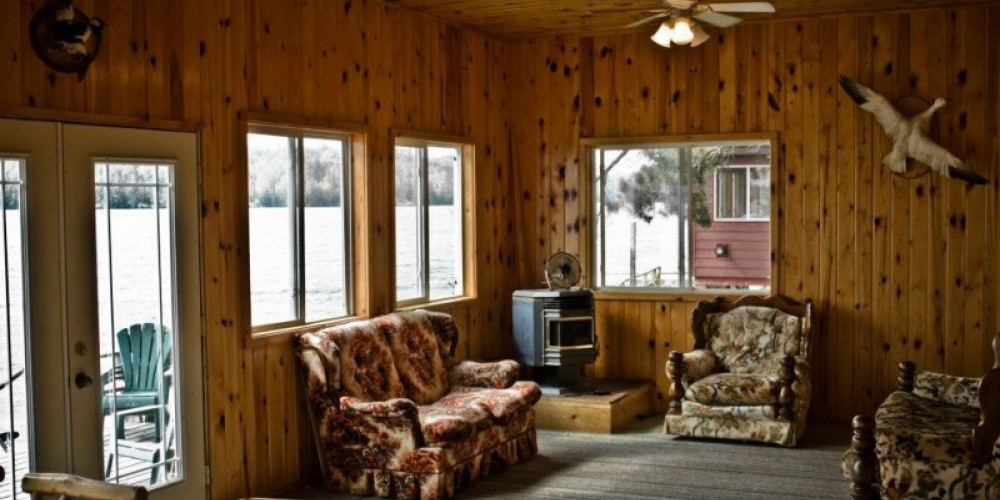 Inside of Cabin #4 – Tom Pearson