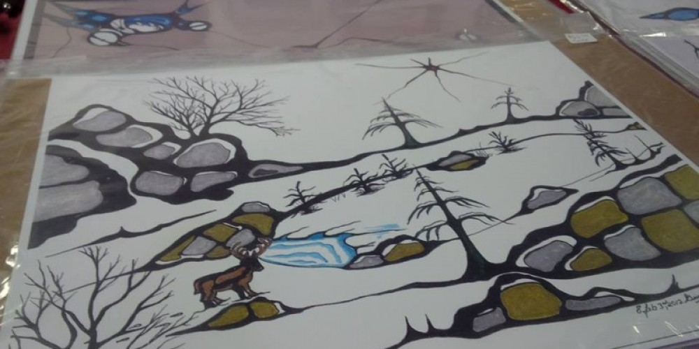 First Nation artwork – Raili Roy