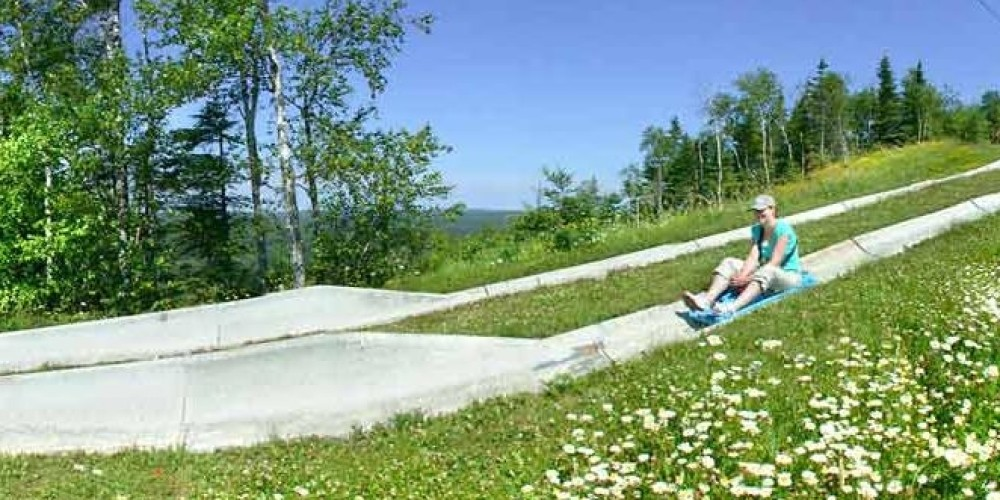 The Alpine Slide is a popular family-friendly activity.